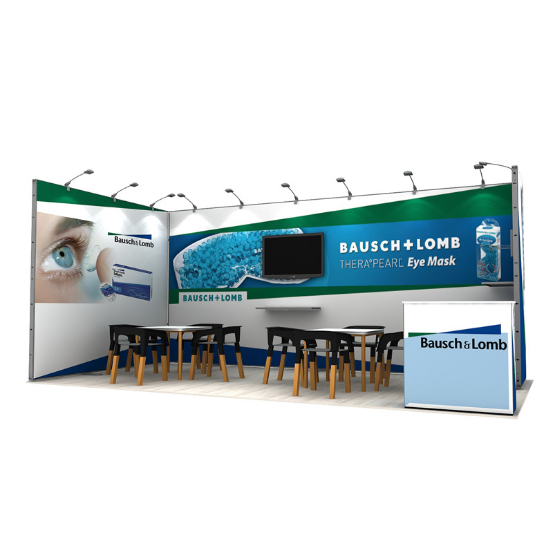 3X6 Aluminum Modular Exhibition Display For Tradeshow Booth Supplier