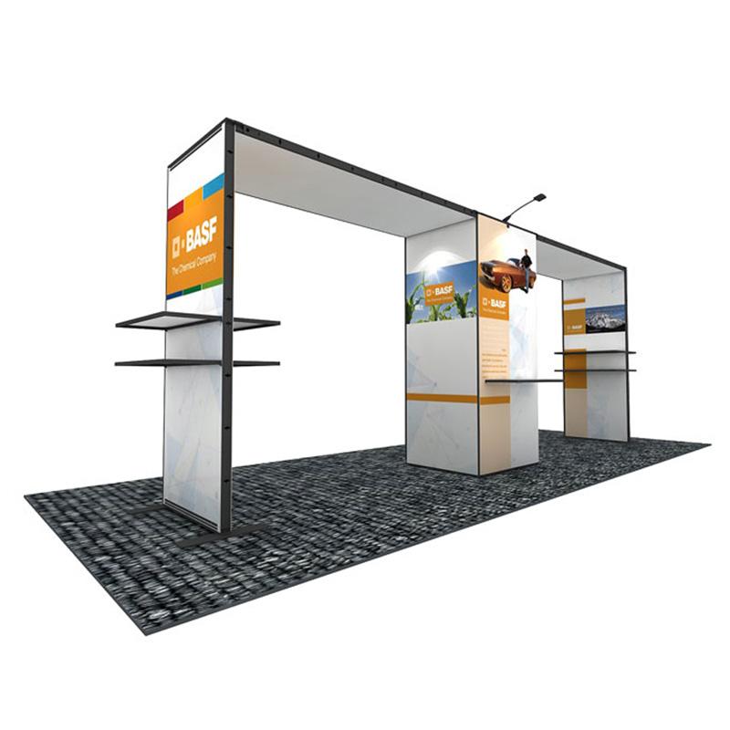 10X20 Aluminum Portable Modular Exhibition Stand