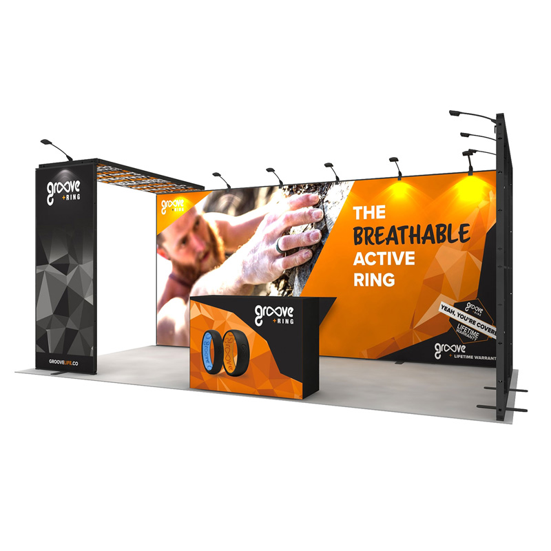 10X20ft Custom Modular Aluminum Trade Show Booth Exhibition