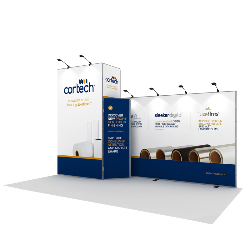 Portable Modular Trade Show Booth Exhibits Display