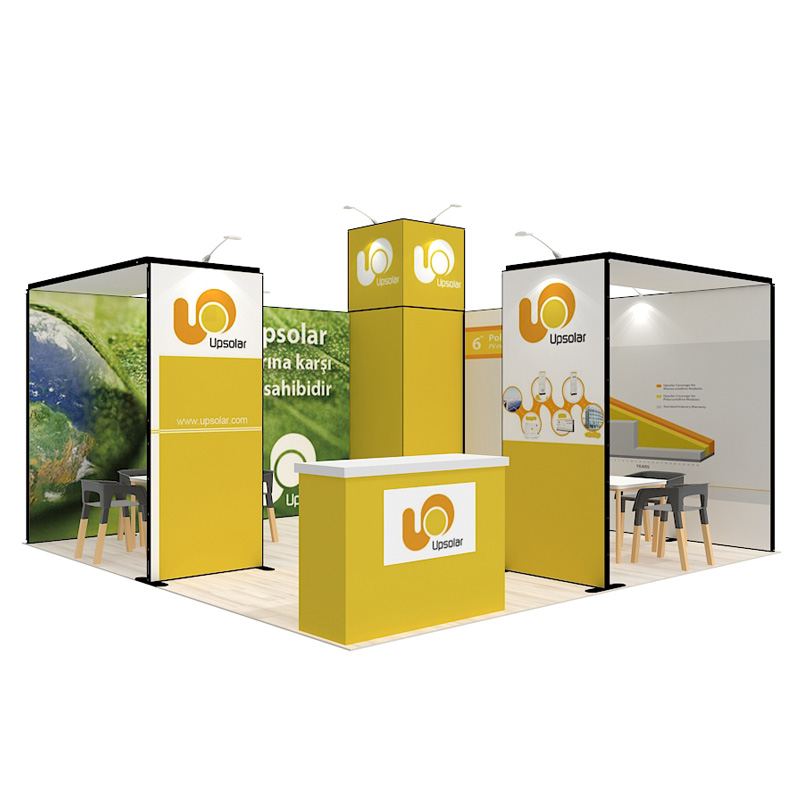 China Modular Reusable Exhibition Display Booth For 5X5m
