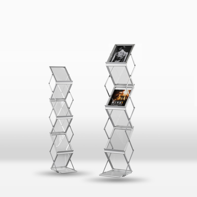 Foldable Brochure Holder