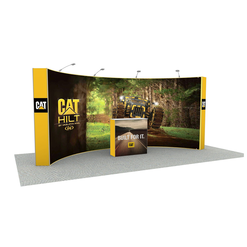20ft Curved Backdrop Stand