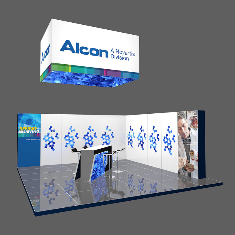 20X20 Reusable Modular Shell Scheme For Trade Show Display