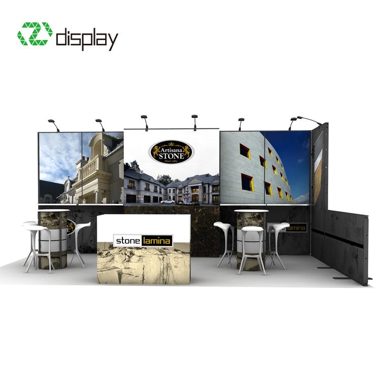 10x20ft modular exhibit display booth