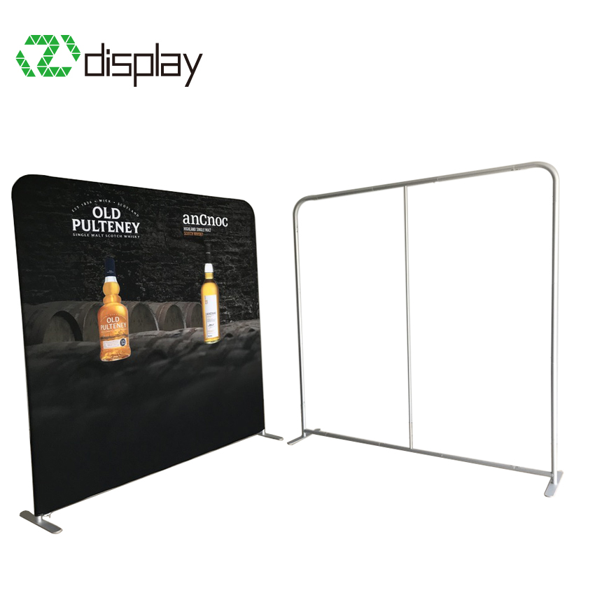 8ft trade show backdrop
