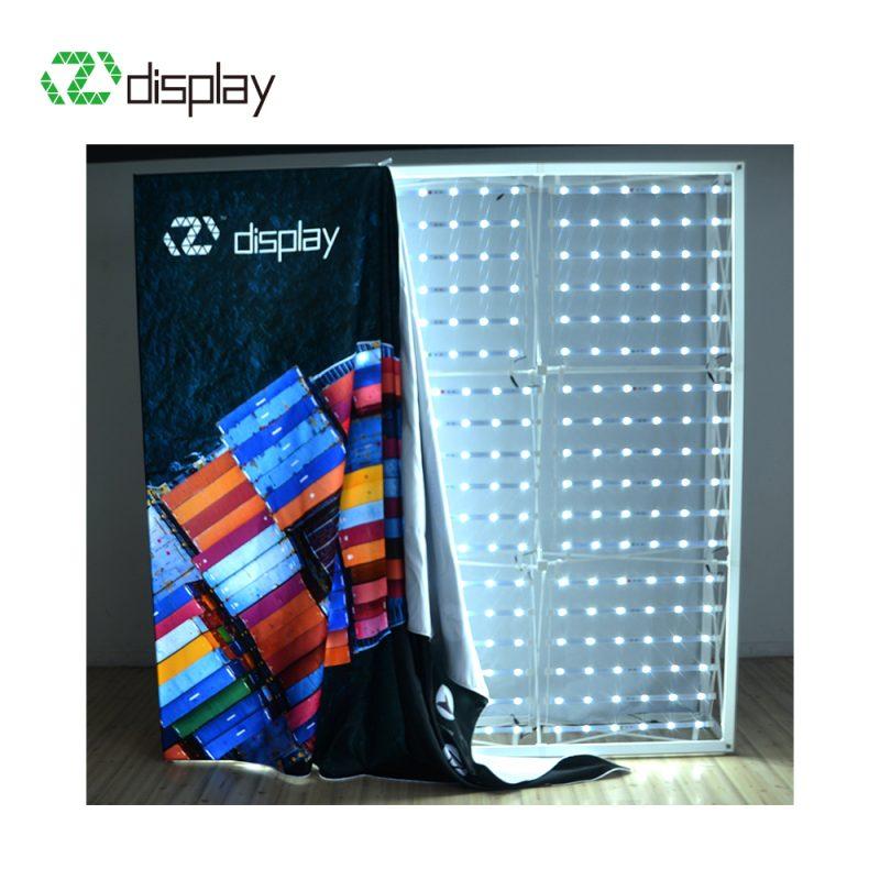 8ft Backlit  pop up display stand