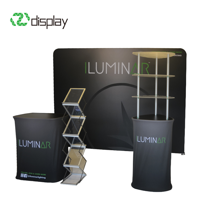 10ft tension fabric display booth