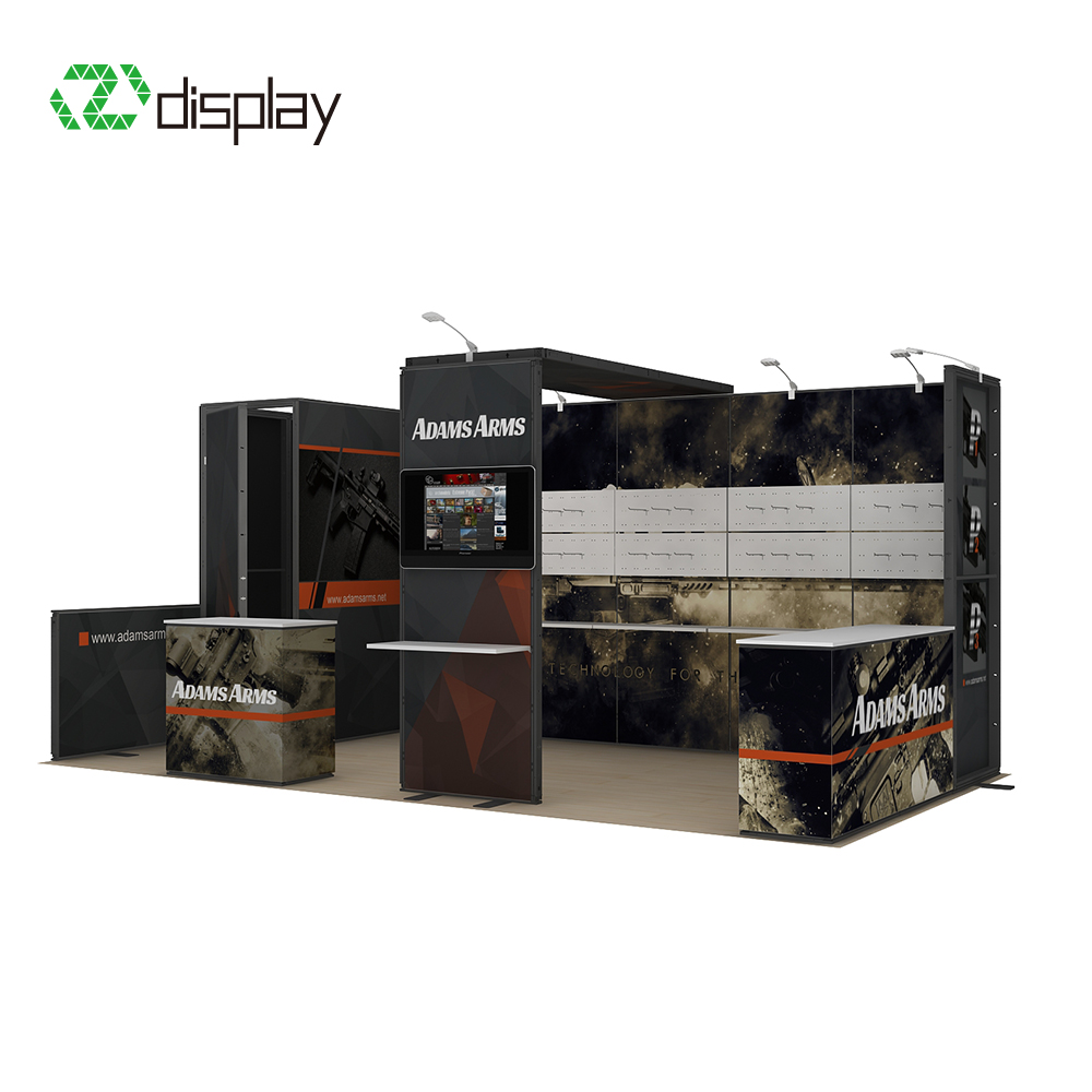 20ft DIY Modular Booth Large Exhibition Booth