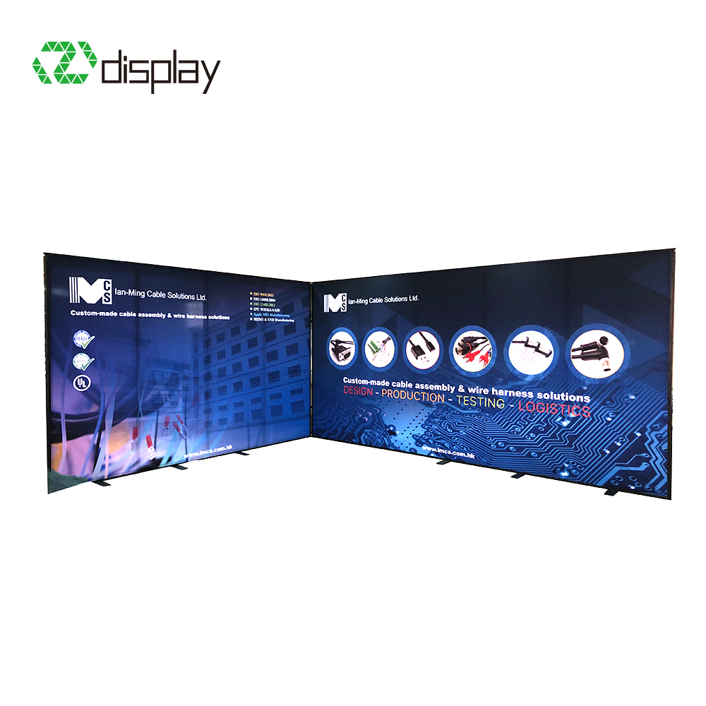 3x6 DIY Expo Custom Exhibit Booth