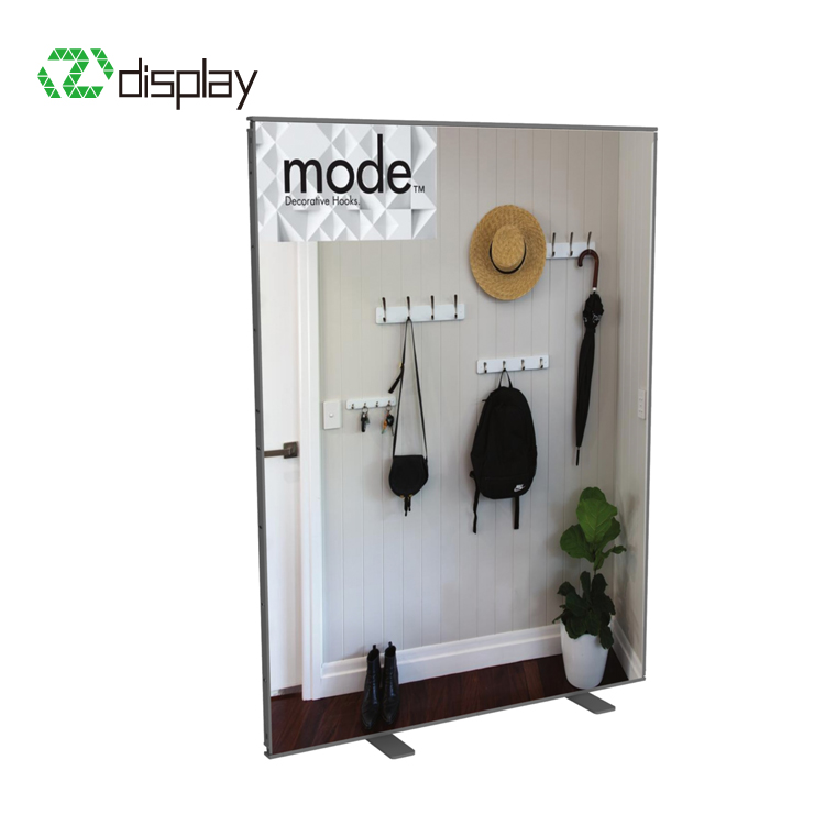 2m wide promotion display stand