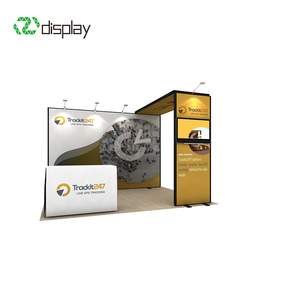 3x4m Modular Booth Exhibit Display