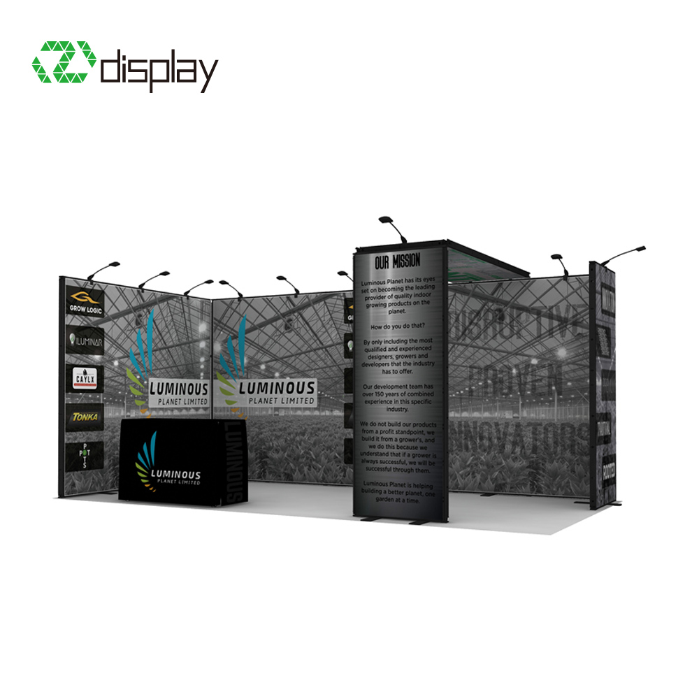 10x20ft modular aluminum booth exhibition for show