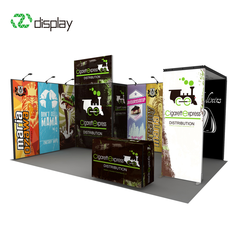 4x6 Custom aluminum trade show exhibits