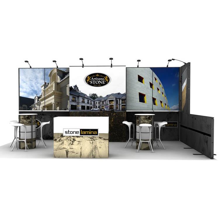 10x20ft modular exhibit display booth