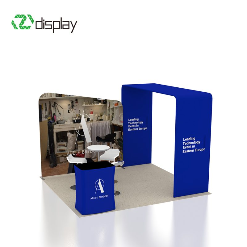 3x3m fashion exhibition stand