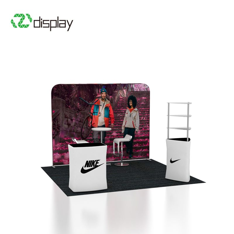 Trade show display stand kit