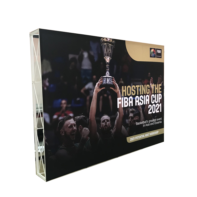 20ft 10ft Trade Show Pop Up Display Wall Stand in Aluminum