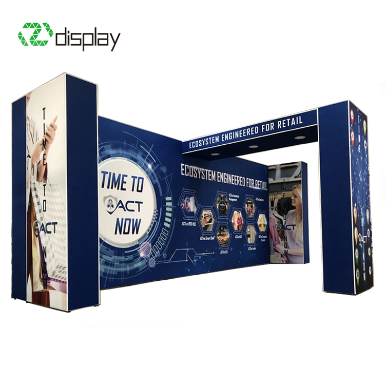 Exhibition Booth Backlit Backdrop Wall Material Tradeshow Display