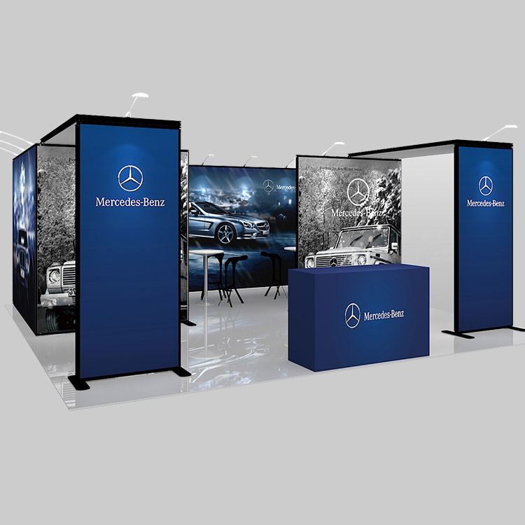 20x20ft Modular Design Trade Show Display Booth