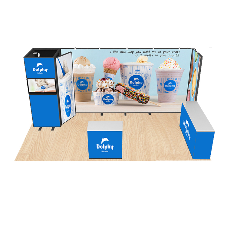 2020 New Modular Custom Exhibition Stand Design Trade Show Booth