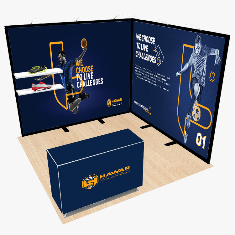 10x10 Modular Collapsible Exhibition Booth for Trade Show