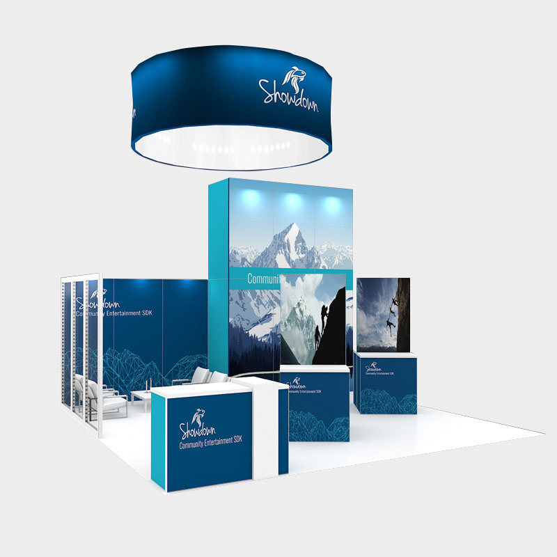 Eframe Custom Booth