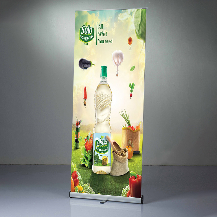121Display Roll up Banner stand