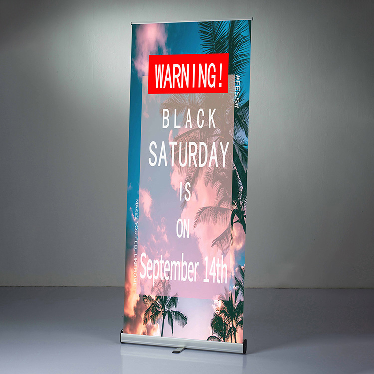 200cm advertising roll up banner stand