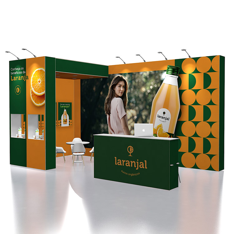 10x20ft America Portable Exhibition Booth from Hangzhou Supplier