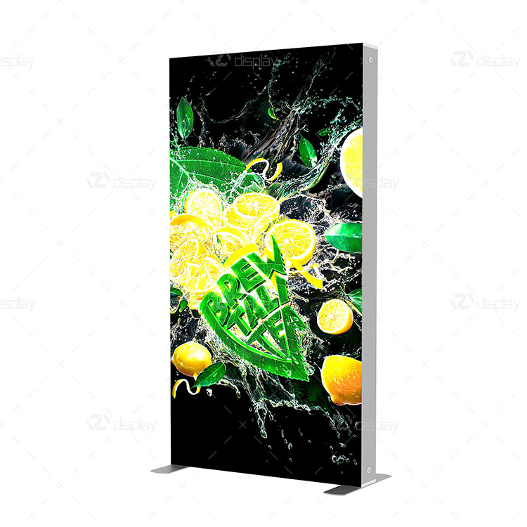 Double-side Fabric Printing Modular Reusable SEG Light Box
