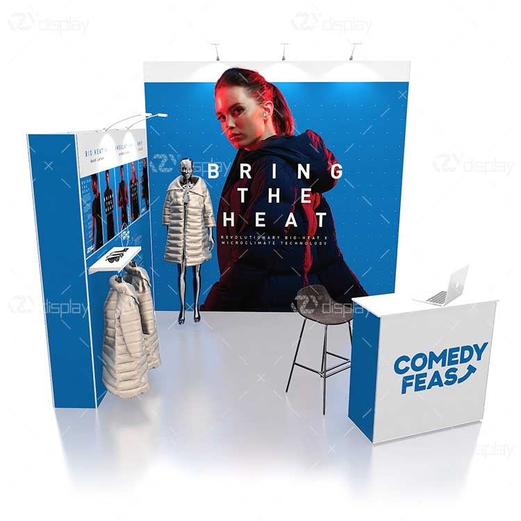 10x10 clothes Trade Show Display Booth