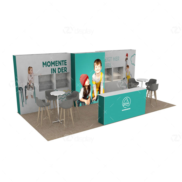10x20ft Exhibit Stand Displays Wall Material Trade Show Booth