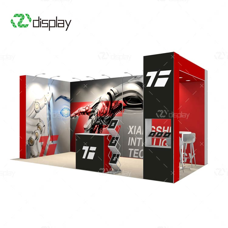 10x20ft Pop Up Display Exhibition Stand Trade Show