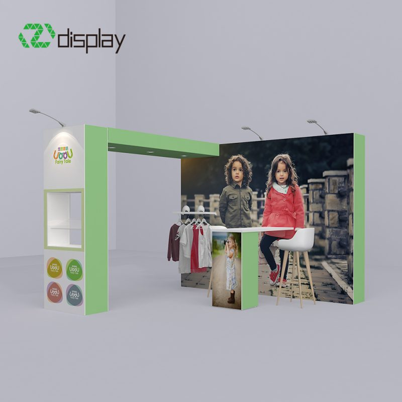 4x3 Pop Up Trade Show Booth