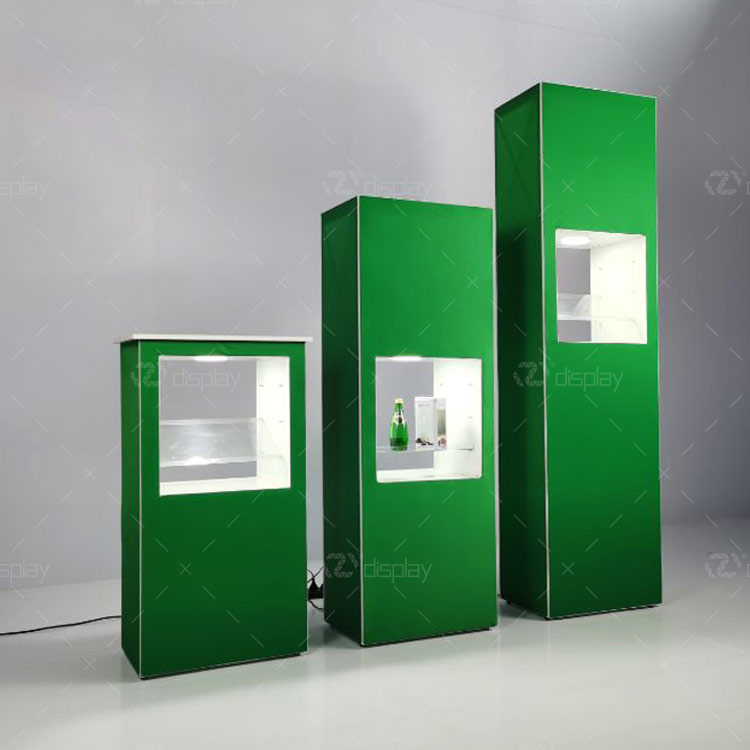 Portable And Reusable Inner Showcase With Cabinet For Trade Show