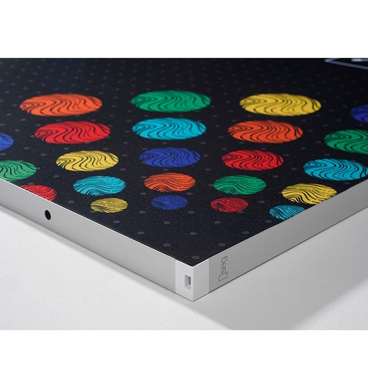 Aluminum modular portable display booth material