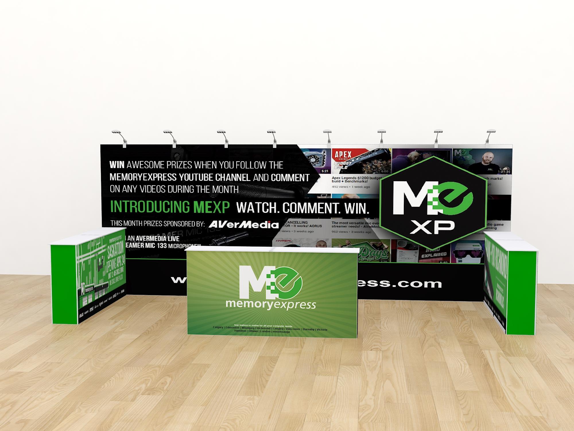 10ft 20ft transformable pop up display